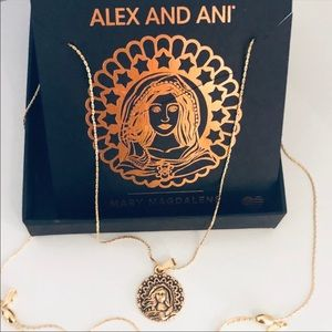 Alex + Ani MARY MAGDALENE Expand Gold Necklace